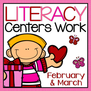 Daily Five Center Work - February and March Bundle