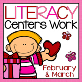 Daily Literacy Centers Work - February and March