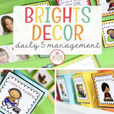 Daily Five Class Management System {Brights Classroom Set}