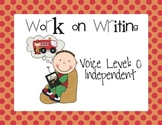 Daily Five Classroom Posters with Voice Levels and Grouping