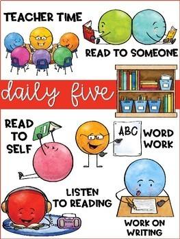 Daily Five Classroom Set