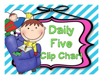 Daily Five Clip Chart Free