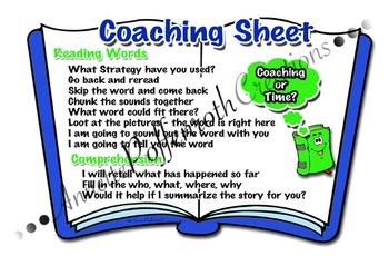 Daily Five- Coaching Sheet