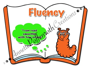 """Daily Five- """"Fluency"""" Cafe Display"""