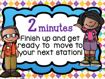Daily Five Interactive PowerPoint with Timed Sides 30, 20 & 15 Min Options