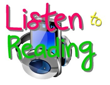 Daily Five Listen to Reading Poster