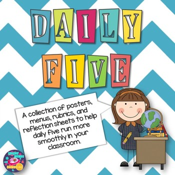 Daily Five Menus and More!