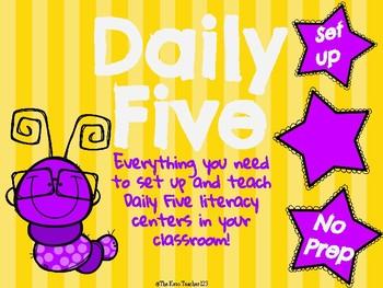 Daily Five - No Prep Set up!