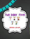 Daily Five Parent Letter
