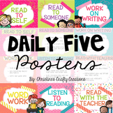 Daily Five Posters (Editable)