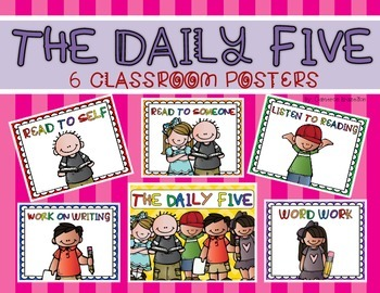 Daily Five Posters (Signs for the Classroom)