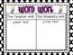 Daily Five Posters and Editable Anchor Charts *Polka Dots*