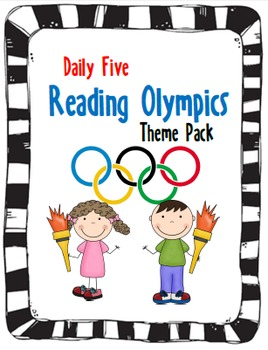 Daily Five Reading Olympics Introduction Unit