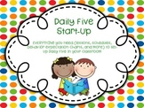 Daily Five Start-up Lessons