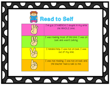 Daily Five Student Self Assessment