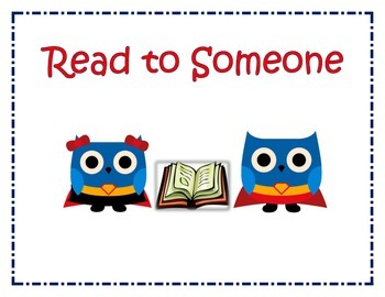 Daily Five (5): Super Hero Owls