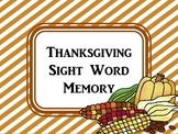 First Grade Thanksgiving Memory