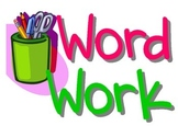 Daily Five Word Work Poster