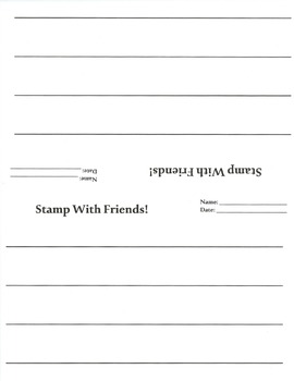 Daily Five Word Work Stamp With Friends Worksheets