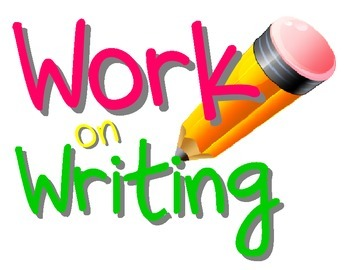 Daily Five Work on Writing