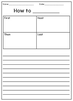 Daily Five Writing Center Templates