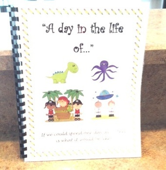 Daily Five Writing Journal - A Day in the Life of...