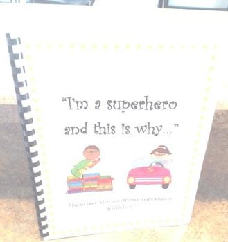 Daily Five Writing Journal - Superhero