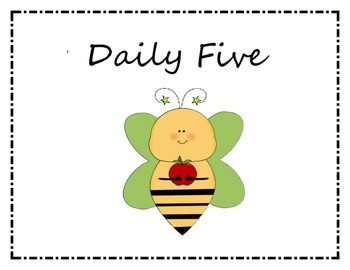 Daily Five (5) with Bee Theme