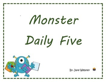 Daily Five (5) with Monsters