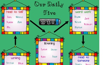 Daily Five/Reading Centers
