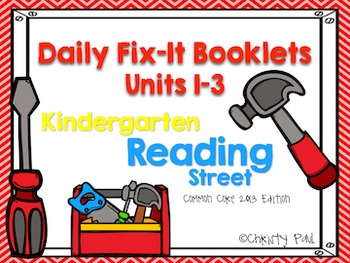 Daily Fix-It Booklets