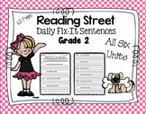 Daily Fix-It Sentences - Reading Street Scott Foresman Grade 2