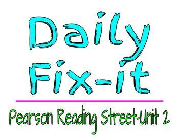 Daily Fix-It: Unit 2