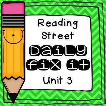 Daily Fix-It Unit 3