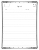 Daily Fix-It Weekly Form