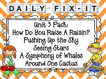 Daily Fix-it (Unit 3 Pack) Reading Street Common Core