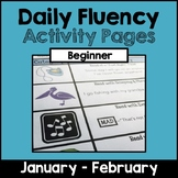 """""""Daily Fluency"""" Activity Pack (January - February)"""