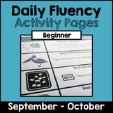 """Daily Fluency"" Activity Pack (September - October)"