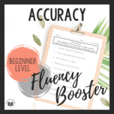 """Daily Fluency"" Booster Pack -- Accuracy"