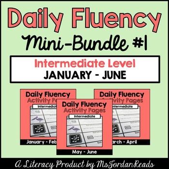 Daily Fluency Intermediate Level {Mini-Bundle #1}