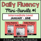 Daily Fluency Intermediate Level {Mini-Bundle #1}