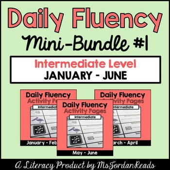 """Daily Fluency"" Intermediate-Level {Mini-Bundle #1}"