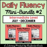 Daily Fluency Intermediate Level {Mini-Bundle #2}