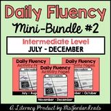 Daily Fluency Intermediate Level {Mini-Bundle #2}