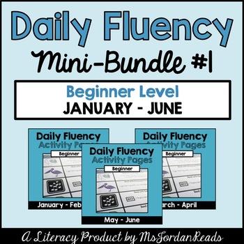 """Daily Fluency"" Primary-Level {Mini-Bundle #1}"