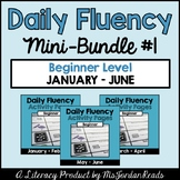 Daily Fluency Beginner Level {Mini-Bundle #1}