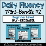 Daily Fluency Beginner Level {Mini-Bundle #2}