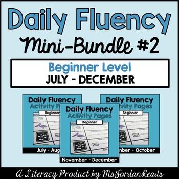 """Daily Fluency"" Primary-Level {Mini-Bundle #2}"