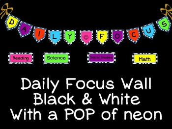 Daily Focus Banner