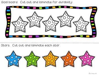 Daily Focus Behavior Chart {A Classroom Management Freebie}